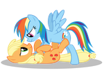 Uhm, Dashie... What Are You Do- oh... by Gratlofatic