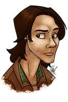 Sam Winchester Portrait by Nicay