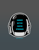 Harder Better Faster Stronger by Ravenide