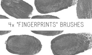 Fingerprints Brushes by PinkMai