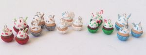 Christmas cupcake charms by RoOsaTejp