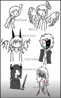 OC: Characters sheet. by SCP-079