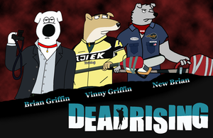 Griffin Dogs Dead Rising by T-Shadow-Dragon