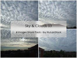 Sky and Clouds Stock Pack 03 by XiuLanStock