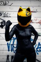 Celty - Durarara by Hannekake