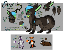 [X-REF] Anxiety Axios by bieIIe