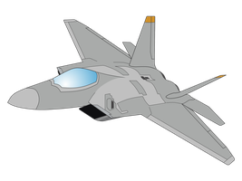 F-22 Raptor Vector by mzx-90