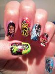 mortal kombat nailz by amanda04