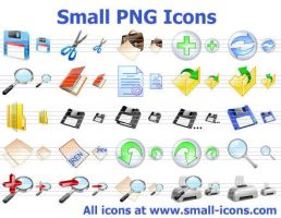 Small PNG Icons by richardkingempire