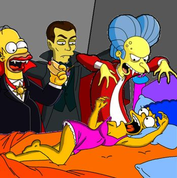 Three Counts and Marge by Homey104