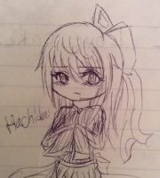Hachidori Doodle by Hime-Bear