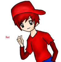 Dick Figures: RED (anime version) by ariannejae
