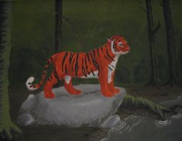 Tiger Painting by selunca