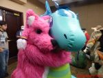Furlandia 2015: Revvy Loves Dragon! by Mytokyokitty