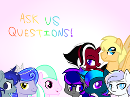 Ask My OCs! by VeteranPegasister