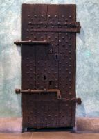 Medieval Door Stock by LadyBranwick