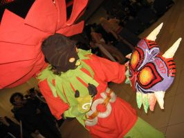 Skull Kid cosplay by crimsontriforce