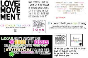 Love Quotes 2 by FatBat1