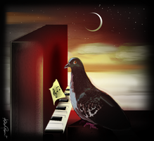 The Moon Song by altergromit
