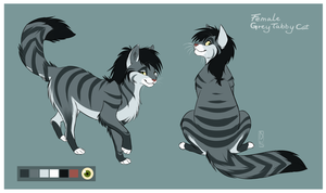 Kitty Design Commission: Zoinkles by SilverDeni