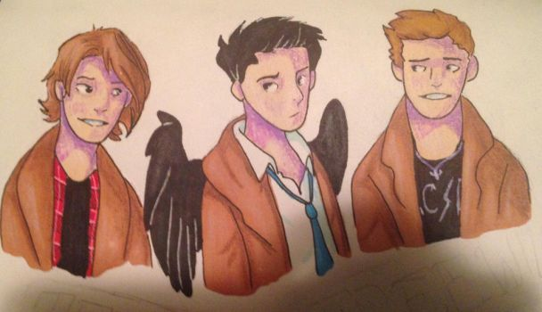 Team Free Will by T-Rex10