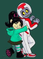 Vanellope thstop! You're cramping my thstyle! by spankingfemfatale