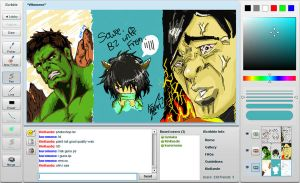iScribble 2 - Hulk by KinKiat