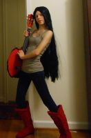 Marceline the Vampire Queen by gPrincessofDarknessf