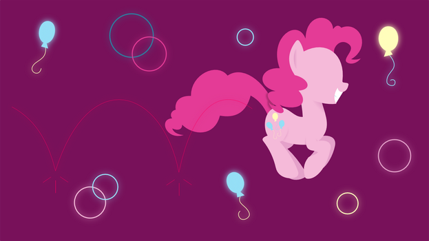 MLP|Pinkie Wallpaper(1366x768) by ForestStarStudios