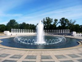 National World War II Memorial by Holly-James
