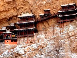 Hanging Monastery by LaurenVM