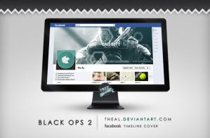 Black Ops 2 Timeline Cover by TheAL