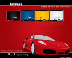 Ferrari F430 Vector Package by V3ct0r