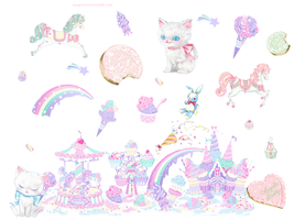 angelic pretty gimp 2 brushes by magicmoons