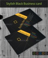 Black Business Card Vol.3 by khatrijiya
