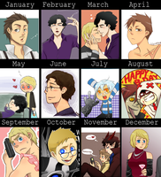 2012 of art Meme by aulauly7