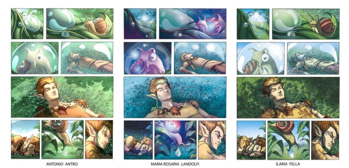 Puck page 5 - Color Studies by giulal