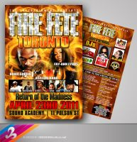 Fire Fete Toronto Flyer by AnotherBcreation