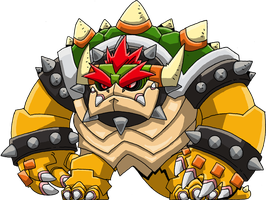 Bowser by Hologramzx