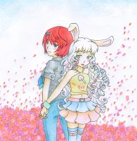 Passionate Spring Flowers - Contest Entry by SomedaySakuhin