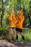 Kagamine twins by 0zick