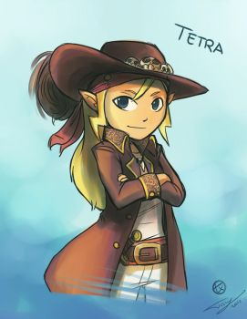 Captain Tetra by Ticcy
