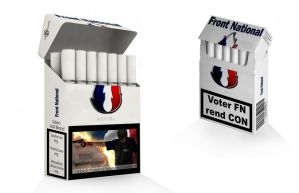 Cigarettes Front National by guillaume-phoenix