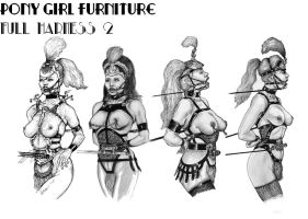Pony Girl furniture 2 by archaeotron