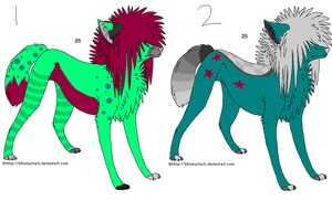 Adoptables 6 PRICES CHANGED by freaking-adopts