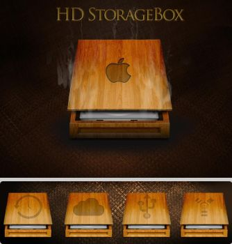 HD StorageBox - add on pack by turnpaper