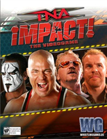 TNA Impact the game cover by SVR08Gamer