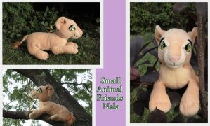 Small Animal Friends adult Nala by Laurel-Lion
