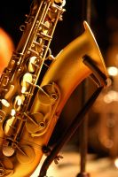 Gold Sax by JaredPLNormand