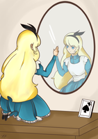 Alice in Wonderland: Through the Looking Glass by AniXancy